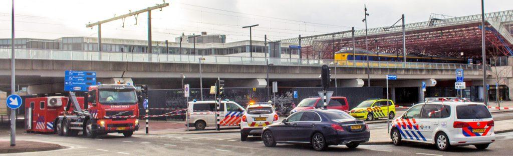 Inzet bij station Almere Centrum